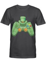 Video Game Gaming St Patricks Day Gamer Boys St. Patty's Day T-Shirt