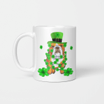 Dabbing English Bulldog St Patrick's Day Gift Mug