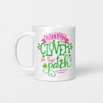 Kids Cutest Clover In The Patch St Patrick's Day Gift Irish Girl Gift Mug