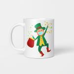 St Patrick's Day Leprechaun In A Mask 2021 Boys Girls Kids Gift Mug
