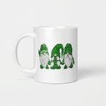 Green Sweater Gnome St. Patrick's Day Irish Gnome Gift Mug