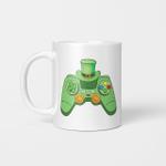 Video Game Gaming St Patricks Day Gamer Boys St. Patty's Day Gifts Mug