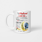 To My Husband Never Forget That I Love You When We Get To The End Of Our Lives Together Coffee Mug I Love You To The Moon And Back Gifts Mug