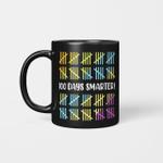100 Days Smarter School Celebration 100 Days Of School Gifts Mug