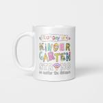 100th Day of Kindergarten Strong No Matter Distance Teacher Gifts Mug