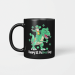 Dino St Patricks Day Kids Toddler Boys Leprechaun Gifts Mug
