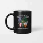 Irish By Blood American By Birth Patriot By Choice St Patrick's Day Gifts Mug