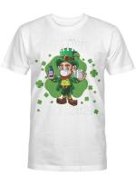 Leprechaun Wearing Mask - Funny Saint Patrick's Day 2021 Shirt