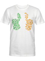 St Patricks Day shamrock Gaming Video Gamer kids boys men Shirt