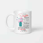 To My Daughter In My Eyes I Love You So much Love Mom Gift For Daughter From Mom Mug