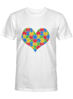 I Love Someone With Autism T-Shirt Autism Awareness Shirt