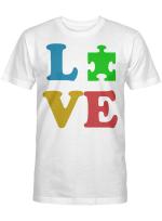Love Autism Autism Awareness Gifts Shirt