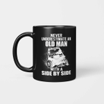 Jeep Never Underestimate An Old Man With A Side By Side Mug