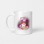 Easter Gnome Bunny With Easter Eggs Basket Funny Easter Day Gifts Mug