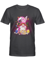 Easter Gnome Bunny With Easter Eggs Basket Shirt Funny Easter Day Gifts
