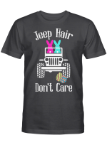 Jeep Hair Don't Care Easter Bunny Funny Shirt Easter Eggs Shirt, Happy Easter Day Graphic Tees