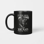 My Spirit Animal Is A Grumpy Dragon Who Slaps Annoying People Graphic Mug