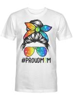 LGBT Girl Mom Proud Mom Shirt
