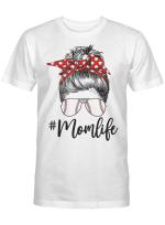 Womens Mom Life Softball Baseball Shirt Funny Mother's Day Gifts T-Shirt