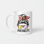 Mom Life Softball Baseball Mothers Day Graphic Mug Mother's Day 2021 Gifts Mug
