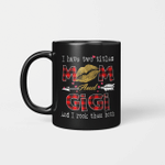 I Have Two Titles Mom And Gigi And I Rock Them Both Leopard Lips Lipstick Kiss  Mother's Day Gifts Mug