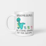 Grandmasaurus Like A Normal Grandma But More Awesome Mother's Day Mug