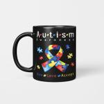 Live Love Accept Autism Awareness Month Mug