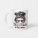 Kinda Busy Being A Chicken Mom Mug Mother's Day Mug Gift For Mom