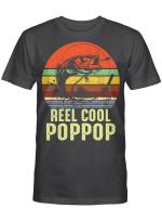 Vintage Reel Cool Pop-Pop Fishing Funny Grandpa PopPop Shirt
