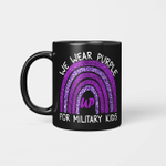 We Wear Purple Up For Military Kids Military Child Month Mug