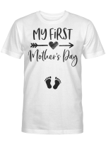 My First Mother's Day Pregnancy Announcement Funny Shirt