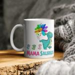Mamasaurus Mug Mama Saurus Dinosaur Funny Mother's Day Gift Mug