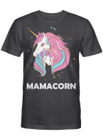 Mamacorn Unicorn Mommy And Baby Mother's Day Gift Shirt