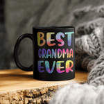 Best Grandma Ever Colorful Funny Mother's Day Mug