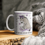 Funny Donkey Fibromyalgia's A Real Pain In The Body And Sometimes Even My Hair Hurts Mug