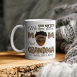 God Gifted Me Two Titles Mom And Grandma Mug, Mothers Day Mug, Mothers Day Gift, Gift for Mom Mug, Happy Mother day Mug