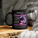 Butterfly Being A Grandma Is An Honor Being A Great Grandma Is Priceless Mug Gift For Mom, Mother's Day Mug