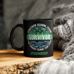 Another School Year Survivor The Longest School Year Ever Teacher 2021 Mug Gift For Teacher, Education Mug
