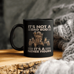 Personalized It's Not A Dad Bod It's A Father Figure Daddy Bear Custom Kid's Name Mug Gift For Dad, Custom Daddy Bear Father's Day Mug