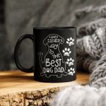 Happy Father's Day To The Best Dog Dad Personalized Dog Dad Mug Gift For Dad