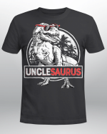 Unclesaurus T-Shirt T Rex Uncle Saurus Dinosaur Men Boys