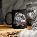 Grandpasaurus Mug T Rex Grandpa Saurus Dinosaur Granddad