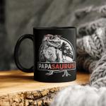 Papasaurus Mug T Rex Papa Saurus Dinosaur Men Dad Daddy