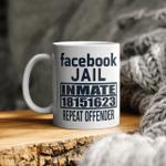 Facebook Jail Inmate 18151623 Repeat Offender Mug