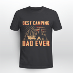 Best Camping Dad Ever Father_s Day Shirt Funny Camping Graphic Tee