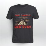 Best Camping Dad Ever Gift For Dad Shirt Camper T-Shirt