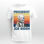4th Of July Independence Day Joe Biden Merican Flag Vintage Shirt