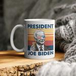 4th Of July Independence Day Joe Biden Merican Flag Vintage Mug