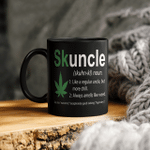 Skuncle Like A Regular Uncle But More Chill Funny Uncle Lover Mug