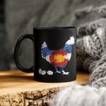 Colorado Chickens Mug